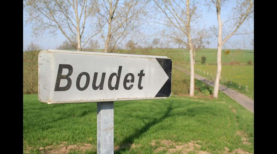 We hope to welcome you to Boudet