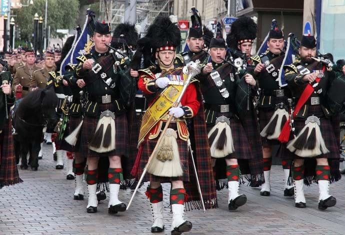 The Highland Regiment