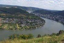 Rheinbogen zwischen Spay und Boppard