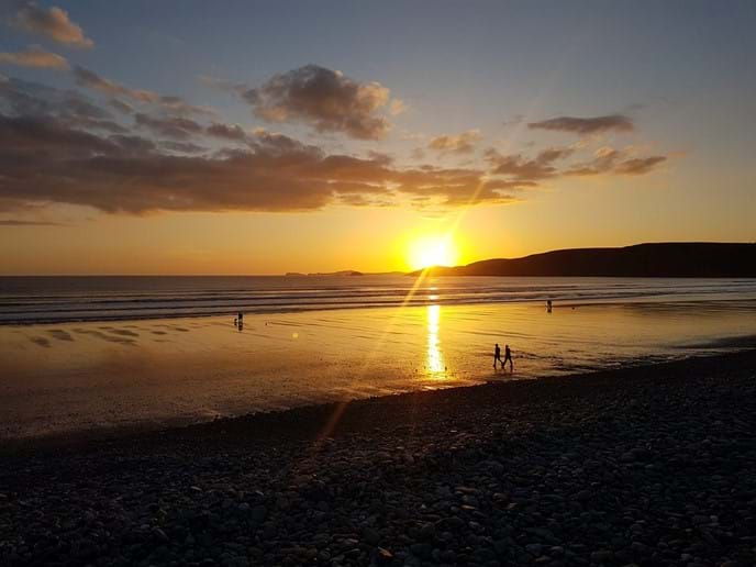 Newgale at Sunset