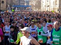 Bath half marathon is a great local event