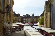 Sarlat Market on Place de la Liberté (Wednesday and Saturday)