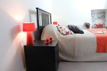 Bedroom 1, the master bedroom