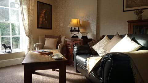 RELAX IN THE BEAUTIFULLY DECORATED LOUNGE And Enjoy the fabulous view of the Iron Bridge