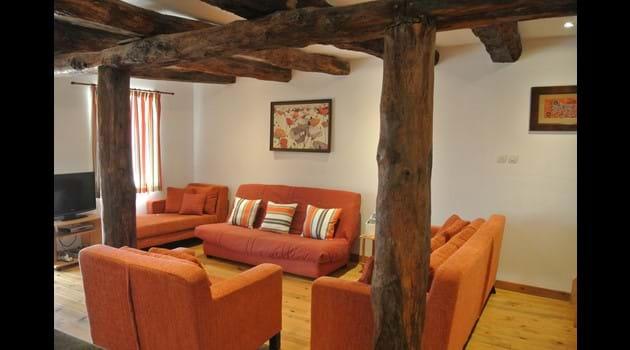 Large, comfortable lounge area