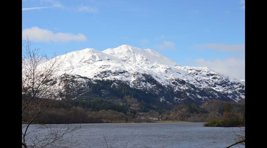 Ben Venue overlooking Loch Venacher