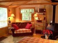 Cozy Guest Cabin is comfortably furnished