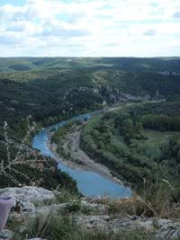 The River Gardon at Russan