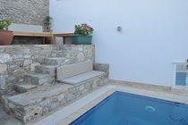 Pool side terraces