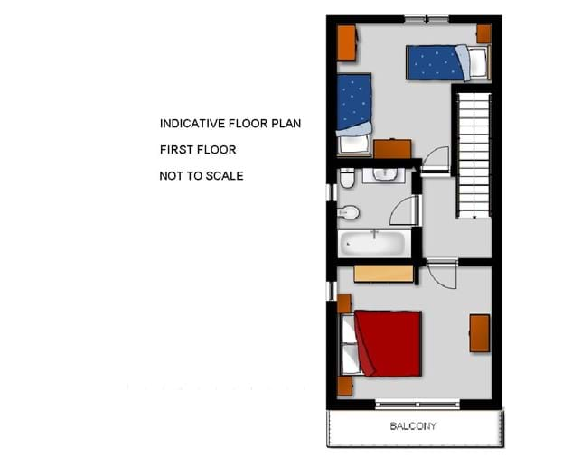 Laroque Villa First Floor Plan