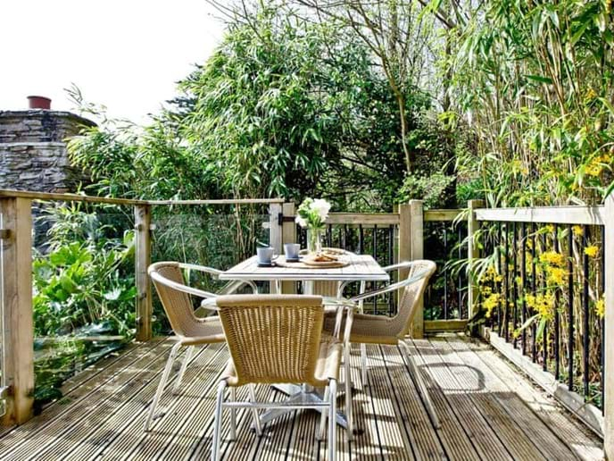 Perfect place to sit and unwind with a cuppa and listen to the wildlife