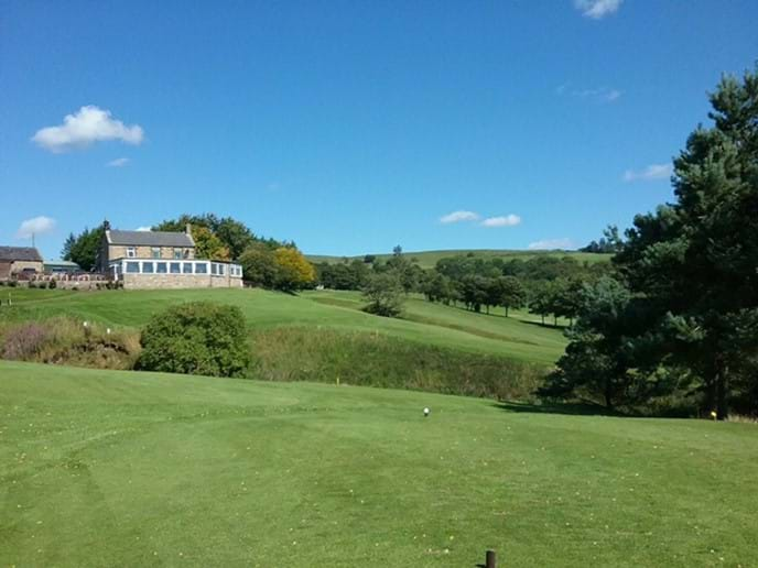 Golf at Bellingham, Burgham and Matfen - 15-30 minutes by car