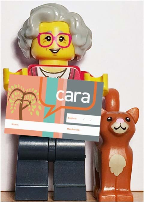Your cara card will be on its way very soon!