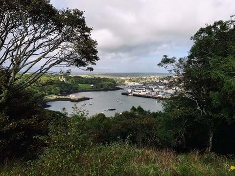 A View Of Stornoway From Lews Castle Grounds
