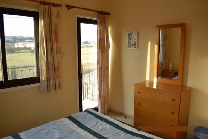 Bedroom 1 access to balcony