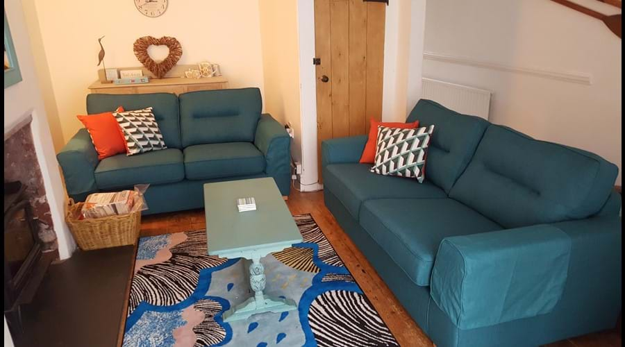 Lounge area with new sofas 2018