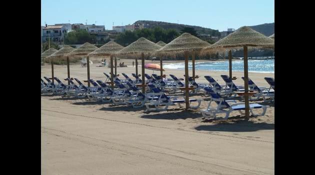 Terreros beach