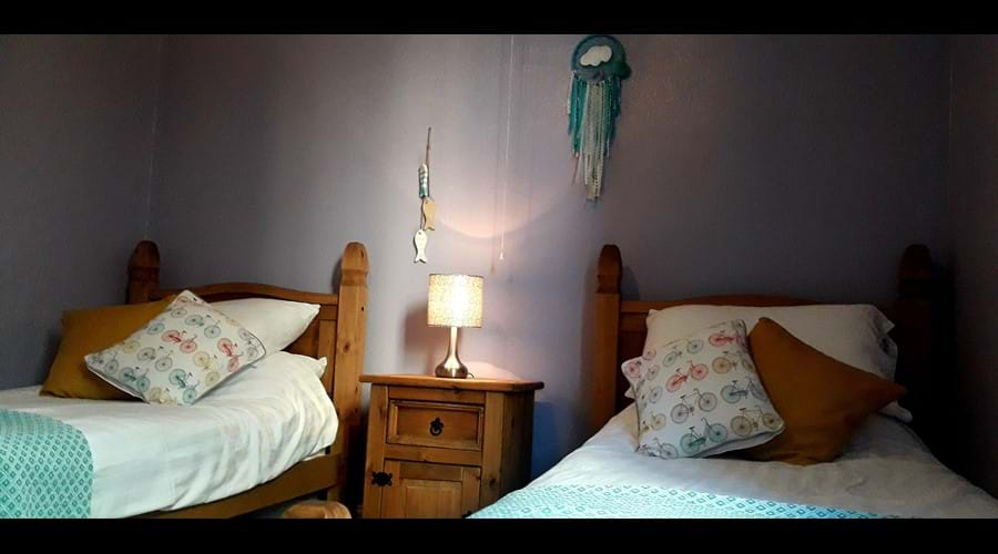 Our twin bedroom
