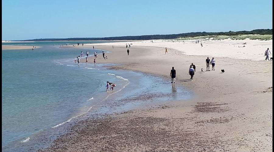 Nairn East Beach in February 2018