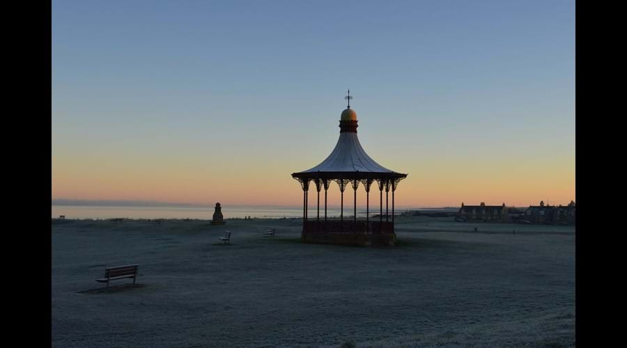 A frosty Bandstand