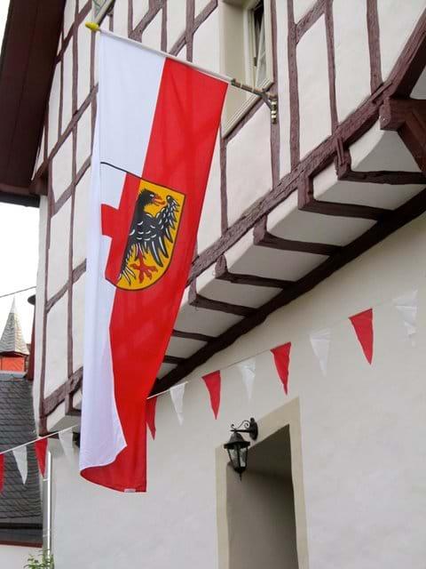 The Historic Coat Of Arms Of Ellenz Poltersdorf