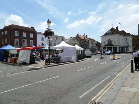 Nearby Historic Wallingford Market Town