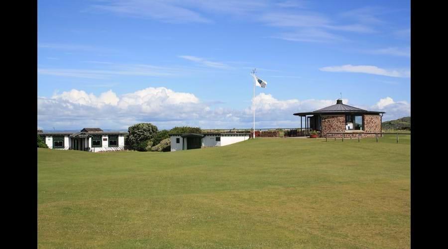 North Berwick West Links starter hut