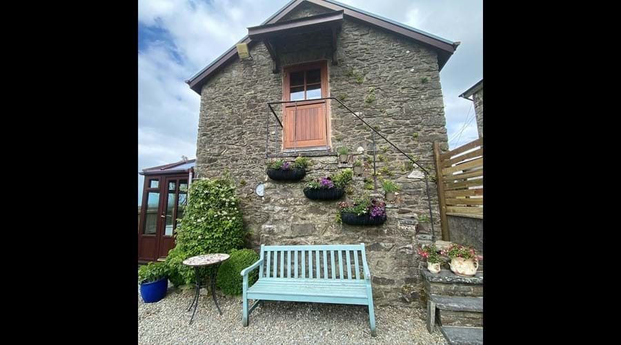 Trysor Holiday Cottage Hayloft View