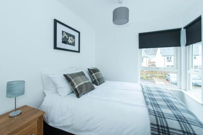 Elegant double bedroom