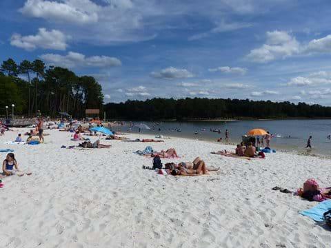 Local Lake beach