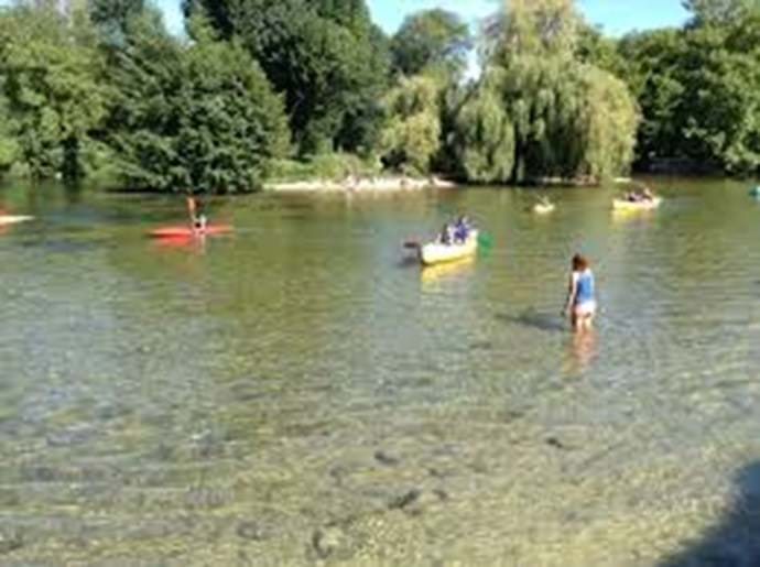 Canoeing on the Charante River