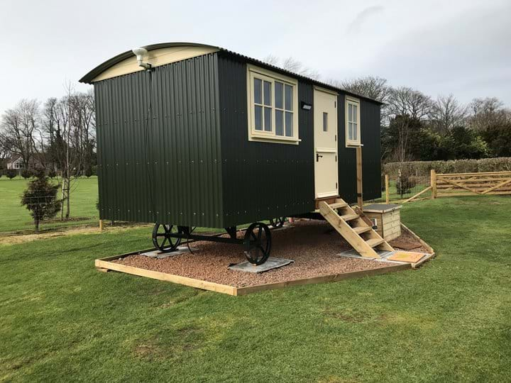 The Hawthorn Shepherds Hut