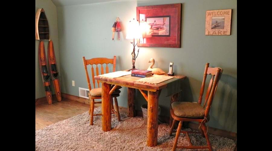 Sitting area or game & puzzle table