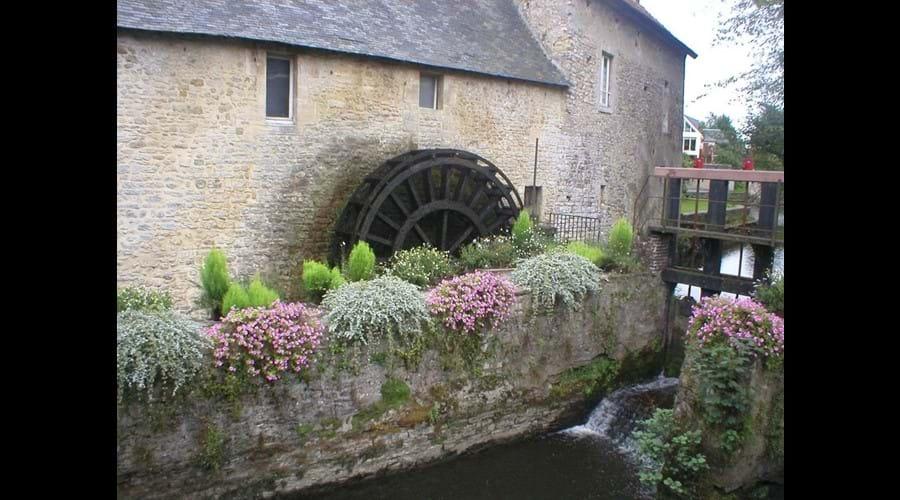 An ancient mill near Bayeux