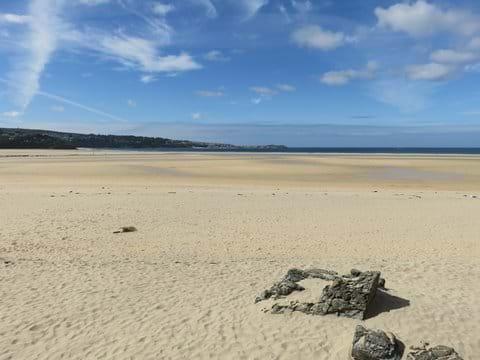 Hayle Beach looking towards St Ives