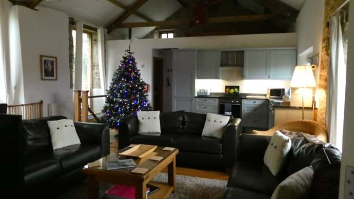Christmas Time in Nutcombe Barn