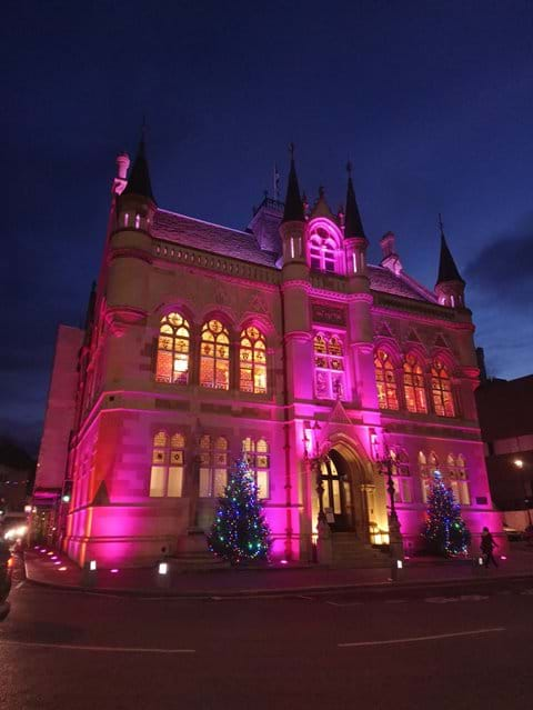 Inverness Town House at Christmas