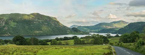 Looking south to Glenridding - one of the best views in the Ullswater valley