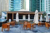 """""""Hilton Doubletree beach bar bar fully licenced next to our pool on the private beach"""""""