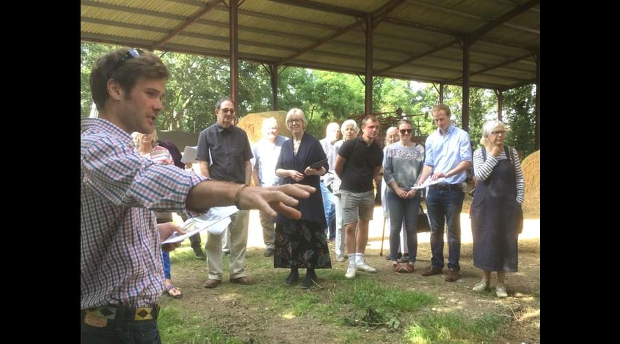 Visit on 7 July 2019 to Lodge Farm, Thaxted : the home of the Bachad  Farm Institute of the Jewish religious youth movement from 1946 - 1962.