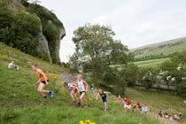 Kilnsey Show junior fell runners