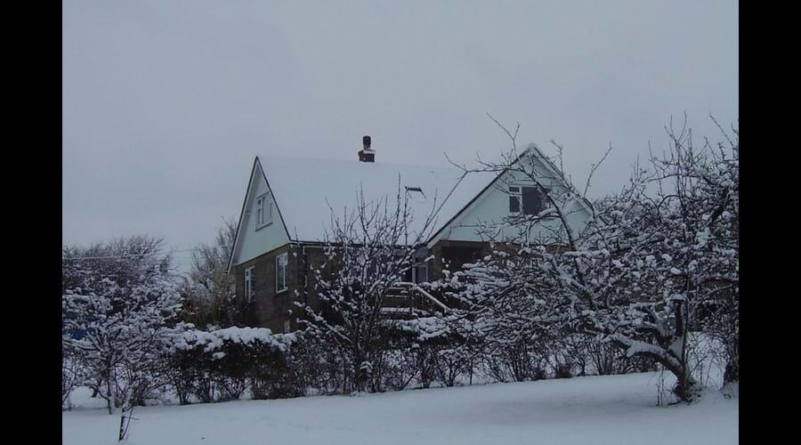 Winter at Three Gables