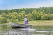 Fishing available for all ages and stages... Private Loch