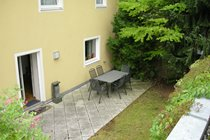 Rear garden - very private