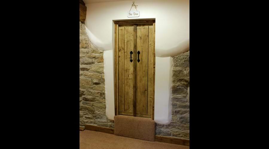 The Den doors