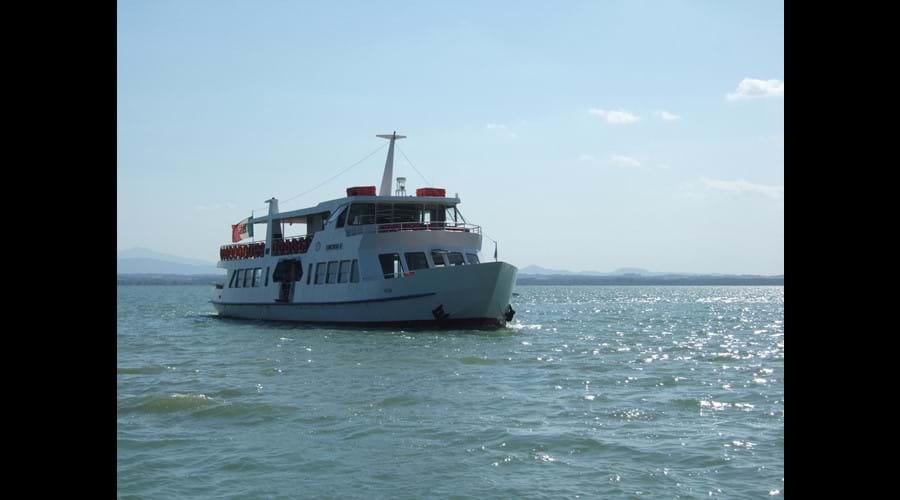 Boat trip to Isola Maggiore