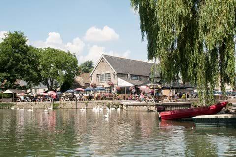 The River Thames at Lechade