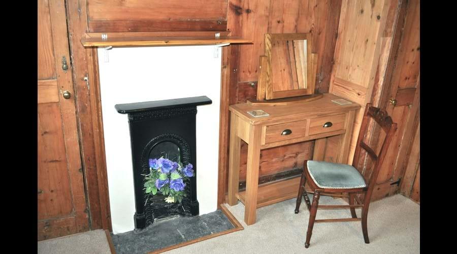 Victorian bedroom fireplace