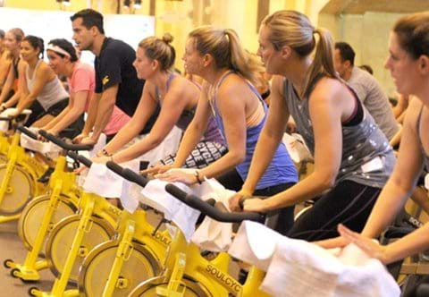 """ Soul Cycle on your doorstep """