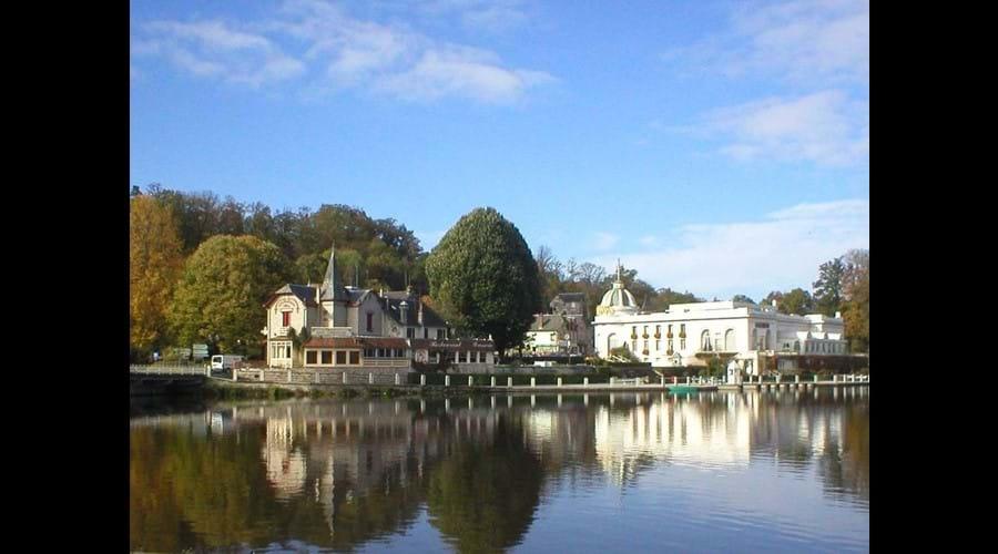 The nearby spa town of Bagnoles de l